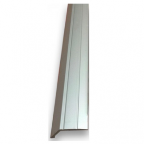 Self Adhesive 8mm Ramp silver - 2.7m