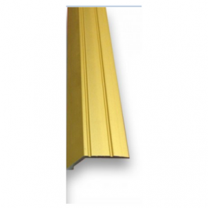 Self Adhesive 8mm Ramp Brass